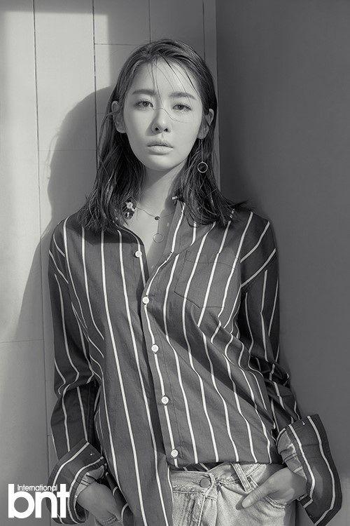 韩女星车珠英写真 展多变时尚魅力
