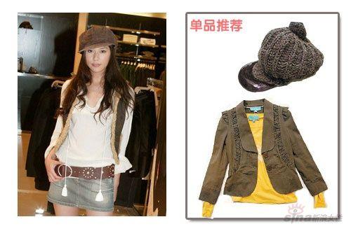 春季长发MM最适合的 8款帽子搭配