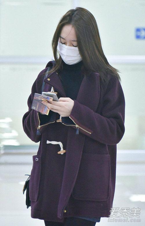 2016韩国女星机场秀合集